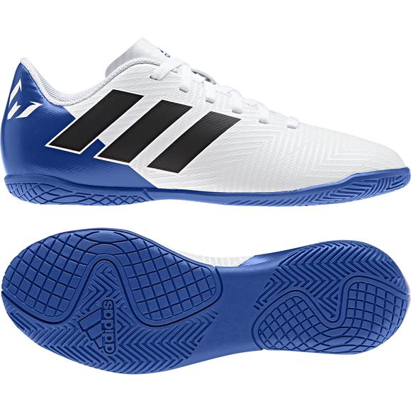 adidas Nemeziz Tango 17.3 Indoor Herren Fußball Hallenschuhe blau gelb Hallen Sohle